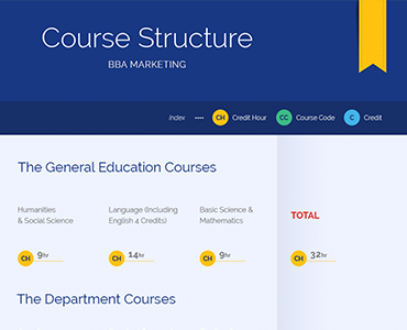 Course Structure BBA Marketing